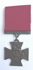 Victoria Cross VC Medal Full-Sized Replica Made In Bronze Plated Pewter With Ribbon - VC